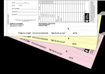 Duplicates Business Deposit Book Easy Scan